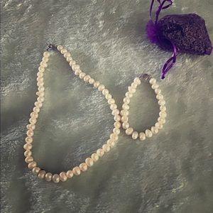 Sea salt pearls set